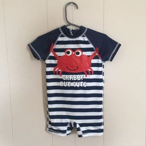 Other - Baby boy one piece swimsuit